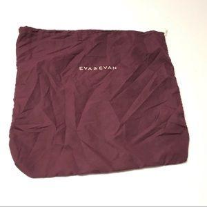 "Eva & Evan Cloth XL Dust Bag  Purse 22"" x 23"""